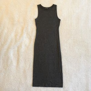 Express Size S Midi Dress with cutouts in back